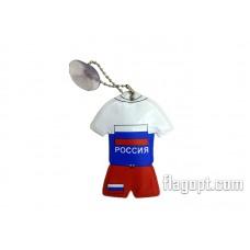 Брелок подвеска на присоске, Россия Форма