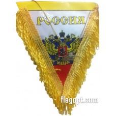 Вымпел Россия треуголный