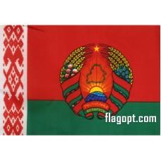 Флаг Белоруссия Герб 16х24