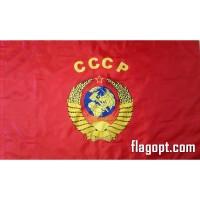 Флаг СССР Герб 90х145