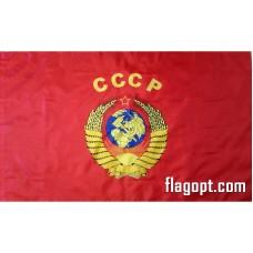 Флаг СССР Герб 16х24