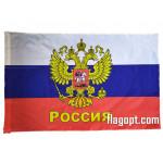 Флаг Россия Герб 14х21