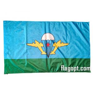Флаг За ВДВ без надписей 90х145