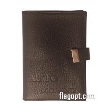 Обложка Авто-Документы+паспорт+кошелек, кожа