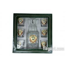 Набор подарочный Герб СССР Графин с стопками