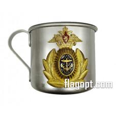 Кружка алюминиевая, ВМФ, 500мл.