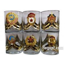 Набор Стаканов с значком, Ордена, 330мл.
