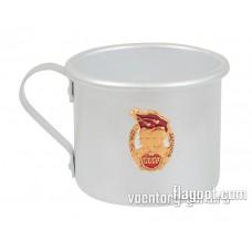 Кружка алюминиевая, ВС СССР, 500мл.